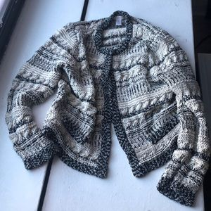 Chico's knitted cardigan size 2/L